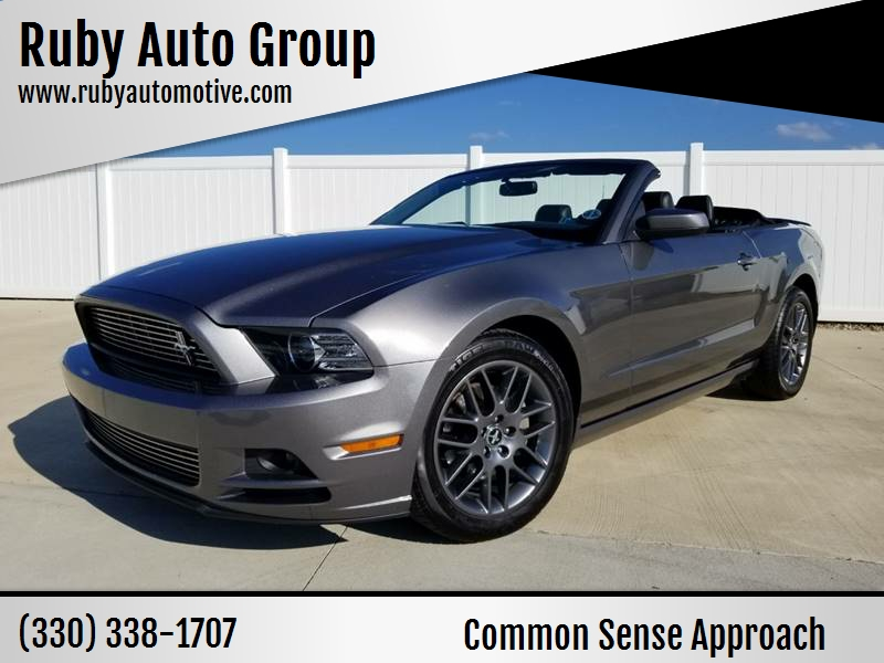2014 Ford Mustang V6 Premium In Hudson Oh Ruby Auto Group