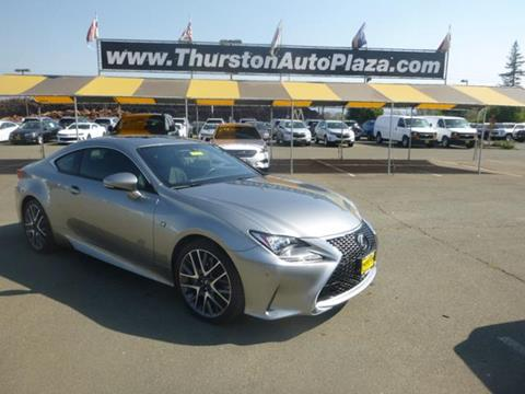 2016 Lexus RC 200t for sale in Ukiah, CA