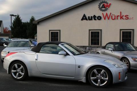 2008 Nissan 350Z for sale in Ephrata, PA