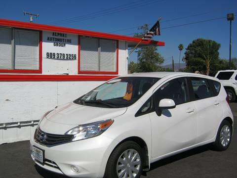 2014 Nissan Versa Note for sale in Hemet, CA