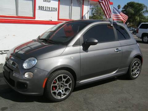 2012 FIAT 500 for sale in Hemet, CA