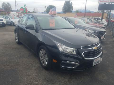 Chevrolet Cruze Limited For Sale In Hemet Ca Alpha 1