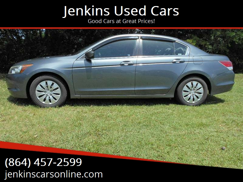 2008 Honda Accord For Sale At Jenkins Used Cars In Landrum SC