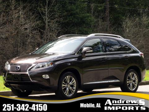 Captivating 2013 Lexus RX 450h For Sale In Mobile, AL