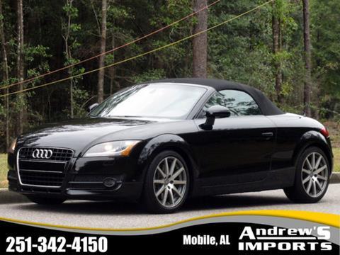 Used Audi Tt For Sale In Mobile Al Carsforsalecom