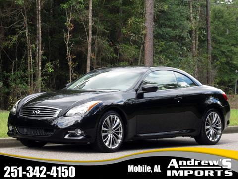 Used Tires Mobile Al >> 2011 Infiniti G37 Convertible For Sale In Mobile Al