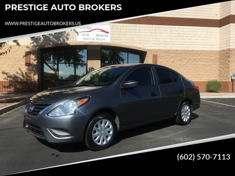 2016 Nissan Versa for sale in Peoria, AZ