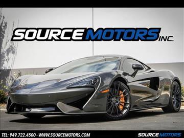 2016 McLaren 570S for sale in Fountain Valley, CA