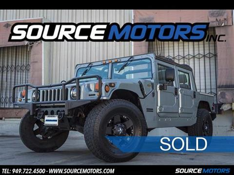 1999 AM General Hummer for sale in Fountain Valley, CA
