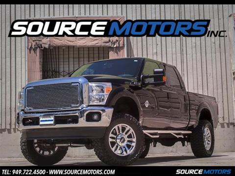 2013 Ford F-250 Super Duty for sale in Fountain Valley, CA