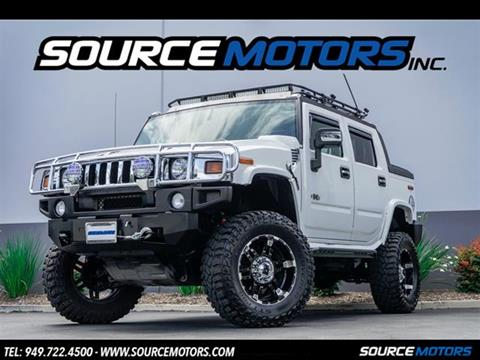 2008 HUMMER H2 SUT for sale in Fountain Valley, CA