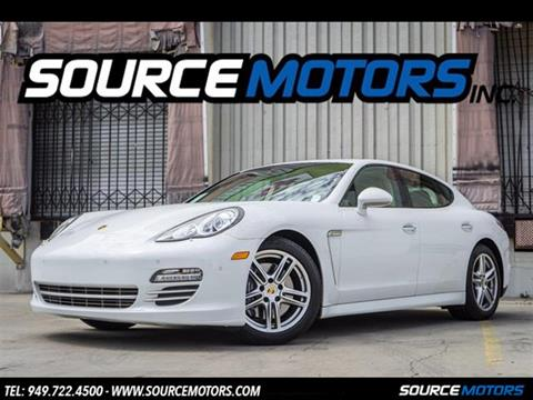 2013 Porsche Panamera for sale in Fountain Valley, CA