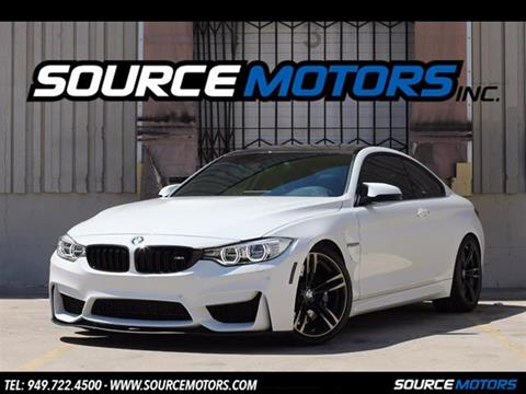 2016 BMW M4 for sale in Fountain Valley, CA