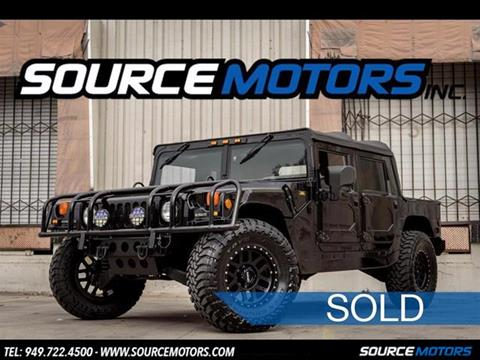 2001 HUMMER H1 for sale in Fountain Valley, CA
