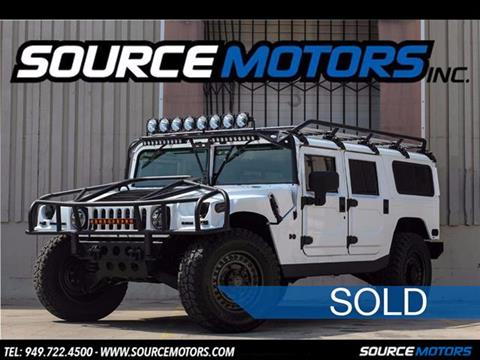 2002 HUMMER H1 for sale in Fountain Valley, CA