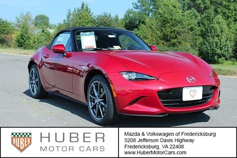 2017 Mazda MX-5 Miata for sale in Fredericksburg, VA