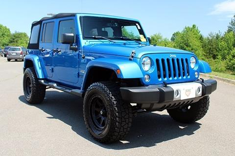 2015 Jeep Wrangler Unlimited for sale in Fredericksburg, VA