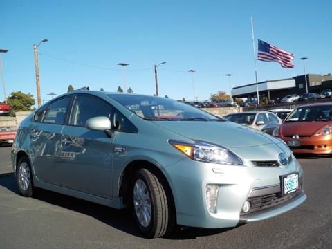 2012 Toyota Prius Plug-in Hybrid for sale in Milwaukie, OR