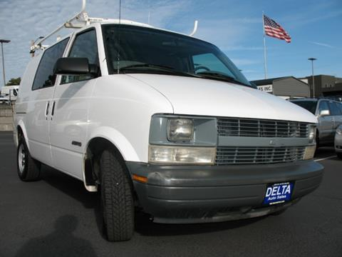 2001 Chevrolet Astro Cargo for sale in Milwaukie, OR