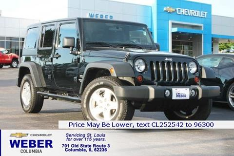 2012 Jeep Wrangler Unlimited for sale in Columbia IL