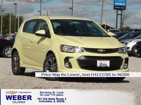 2017 Chevrolet Sonic for sale in Columbia IL
