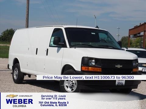 2017 Chevrolet Express Cargo for sale in Columbia IL