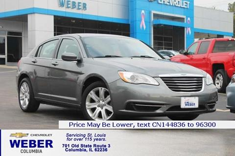 2012 Chrysler 200 for sale in Columbia IL