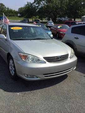 2003 Toyota Camry for sale at SRI Auto Brokers Inc. in Rome GA