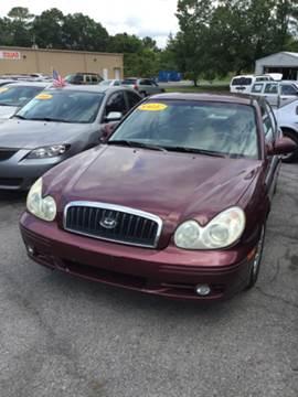 2005 Hyundai Sonata for sale at SRI Auto Brokers Inc. in Rome GA