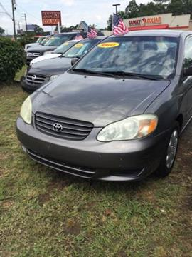 2003 Toyota Corolla for sale at SRI Auto Brokers Inc. in Rome GA