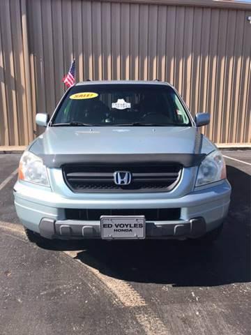 2003 Honda Pilot for sale at SRI Auto Brokers Inc. in Rome GA