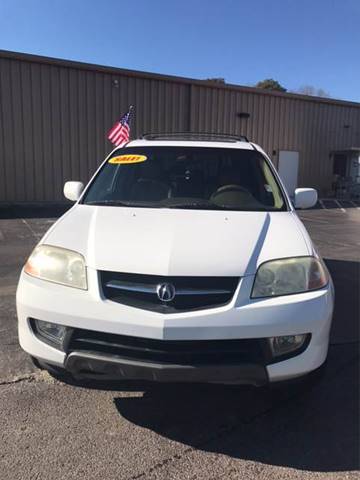 2002 Acura MDX for sale at SRI Auto Brokers Inc. in Rome GA