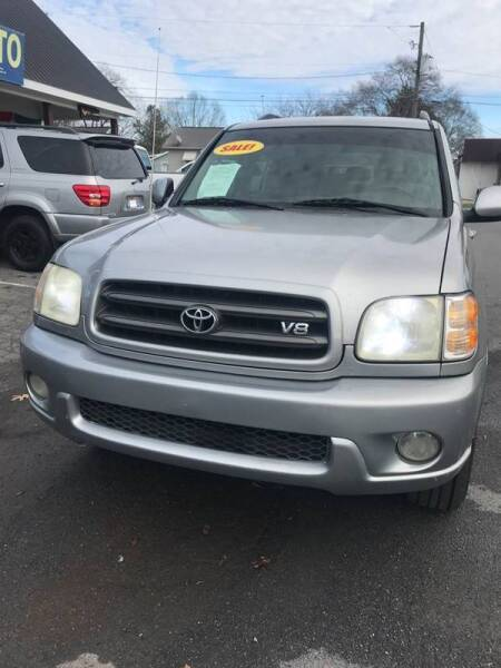 2003 Toyota Sequoia for sale at SRI Auto Brokers Inc. in Rome GA