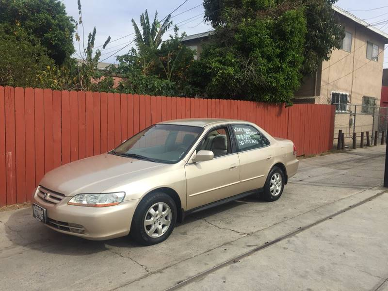 2001 Honda Accord For Sale At The Lot Auto Sales In Long Beach CA
