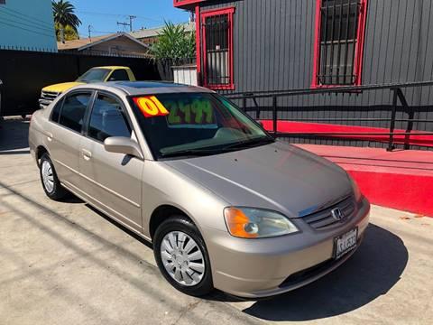 2001 Honda Civic for sale in Long Beach, CA