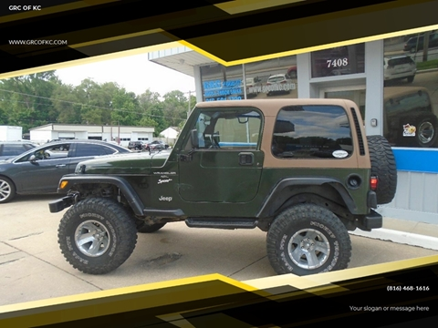 1997 Jeep Wrangler for sale in Gladstone, MO