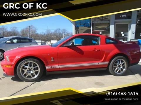 2009 Ford Shelby GT500 for sale at GRC OF KC in Gladstone MO