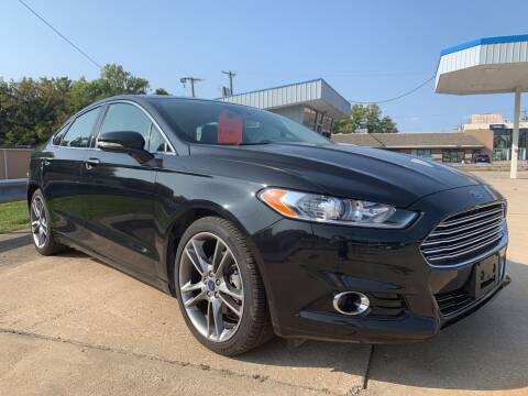 2015 Ford Fusion for sale at GRC OF KC in Gladstone MO
