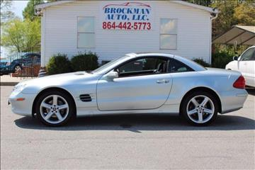 2004 Mercedes-Benz SL-Class for sale in Easley, SC