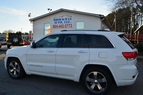 2015 Jeep Grand Cherokee for sale in Easley, SC
