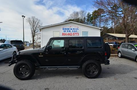 2016 Jeep Wrangler Unlimited for sale in Easley, SC