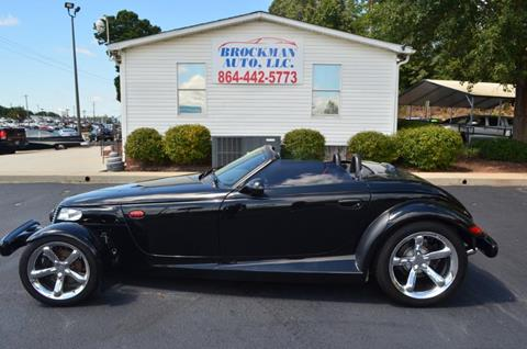 1999 Plymouth Prowler for sale in Easley, SC