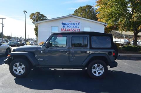 Jeep Wrangler For Sale In Sc >> 2018 Jeep Wrangler Unlimited For Sale In Easley Sc