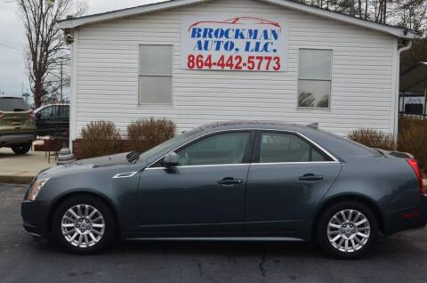2010 Cadillac CTS 3.0L V6 Luxury for sale at Brockman Auto LLC in Easley SC