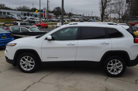 2016 Jeep Cherokee Latitude for sale at Brockman Auto LLC in Easley SC