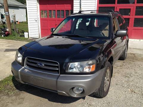 2005 Subaru Forester for sale in Lakeville, CT