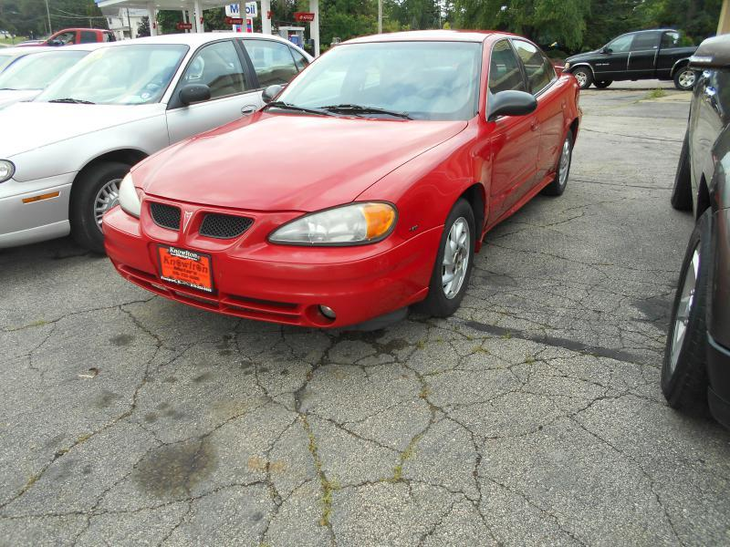 2004 Pontiac Grand Am for sale at Knowlton Motors, Inc. in Freeport IL