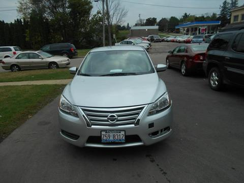 2013 Nissan Sentra for sale at Knowlton Motors, Inc. in Freeport IL