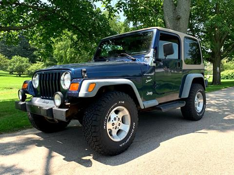 2000 Jeep Wrangler for sale in Freeport, IL
