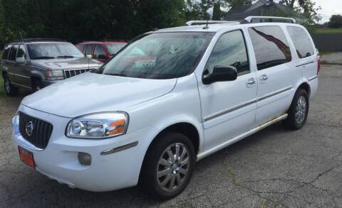 2005 Buick Terraza for sale at Knowlton Motors, Inc. in Freeport IL